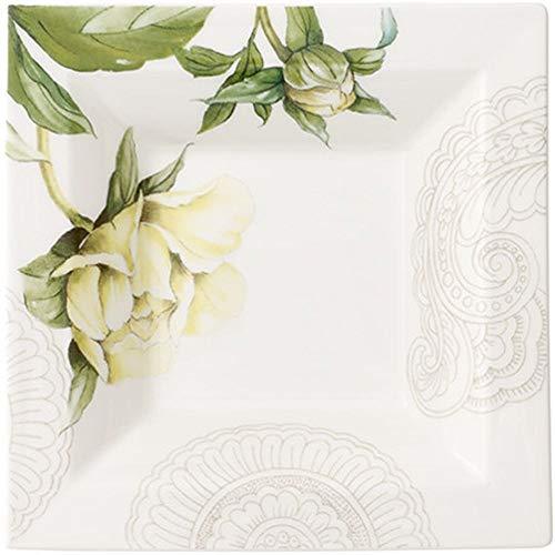 Quinsai Garden Gifts - Cuenco cuadrado (14 x 14 cm)