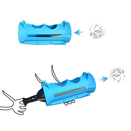 AZLMJXH Schneeball Macht, Wasserballon Pistole im Freien Spielzeug Ballon Bündel Wasserballon Bombe Neuheit Spielzeug der Kinder Winter,1