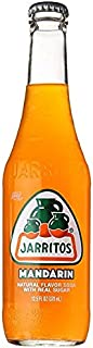Jarritos Mandarin Soft Drink, 12.5 oz (Pack of 12)