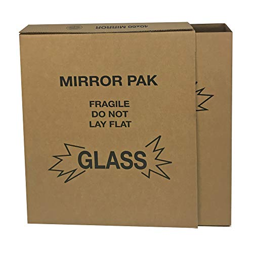 """Mirror & Picture Boxes for Moving 5 Sets Adjustable up to 30""""x40"""""""