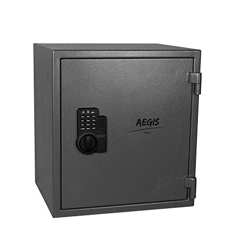 1.74 CF Fireproof Electronic Security Safe Cabinet- Cabinet Safe Lock Boxes with Keypad Lock and...
