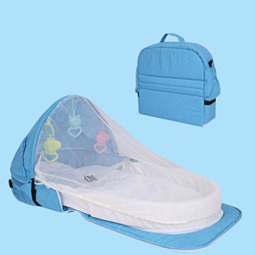 Cheapest Prices! LYNNDRE Newborn Baby Bassinet for Bed/Lounger, Baby Bassinet for Bed,Portable Desig...