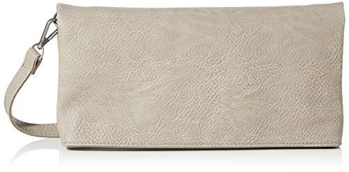 Fritzi aus Preussen Damen Ronja Clutch, Grau (Stone), 6x23x15 cm