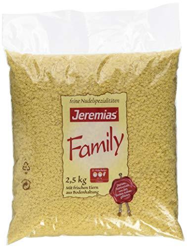 Jeremias Suppen-Sterne, Family Frischei-Nudeln, 1er Pack (1 x 2.5 kg Beutel)
