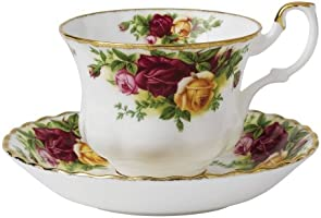 Royal Albert Old Country Roses Teacup and Saucer Set