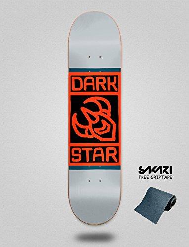 Darkstar Block Grey 8.0 Monopatín Skate Skateboard Deck