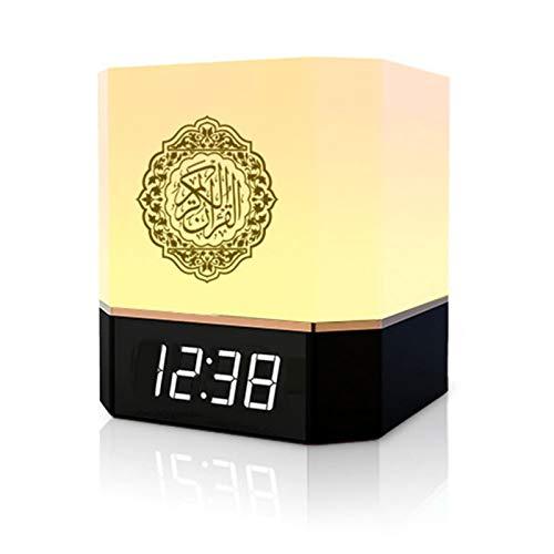 Quran Speaker Smart Touch Lamp Bluetooth Speaker with APP Control, Clock,...