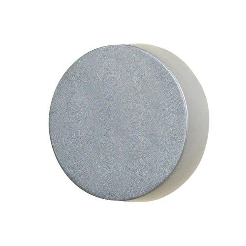 Konstsmide Pesaro 7909-310 wandlamp LED B: 13 cm D: 13 cm H: 8,5 cm / IP44 / aluminium/zilvergrijs