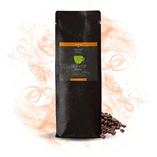 Green Cup Coffee Casa Ruiz - fair gehandelte Arabica Espressobohnen aus Panama - starker Gourmet Espresso aus ganzen Bohnen - Ideal für Siebträgermaschine - 1000g ganze Bohne
