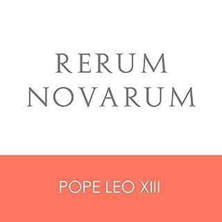 Rerum Novarum audiobook cover art