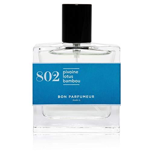 Bon Parfumeur - Eau de Parfum 802 - Pivoine Lotus Bambou - Parfum Femme - Parfum Homme - Vaporisateur Parfum (30 mL - 1 fl.oz)