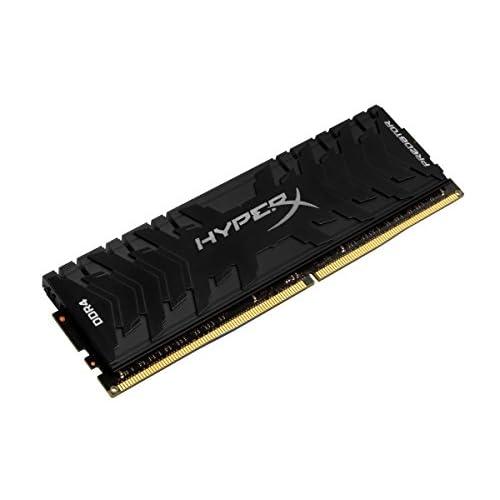 HyperX Predator HX424C12PB3/8 Memoria 2400 MHz DDR4 CL12 DIMM XMP 8 GB, Nero
