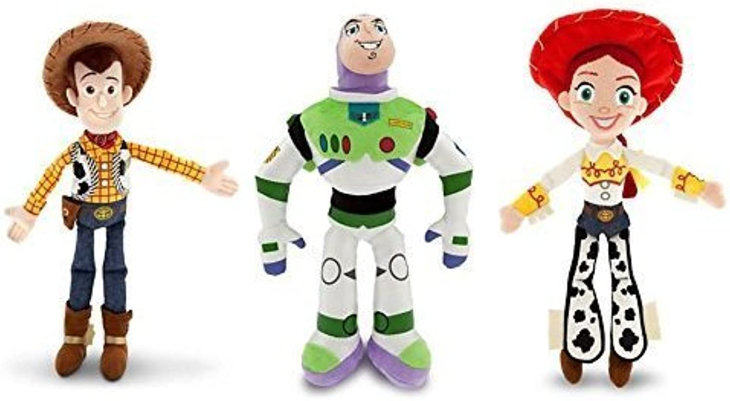 calidad fantástica Disney Juguete Story Story Story - Woody, Buzz Lightyear, and Jessie - Plush Doll Set of 3 by Disney  buena calidad