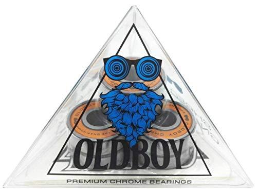 Oldboy Chrome Skateboard Bearings for...