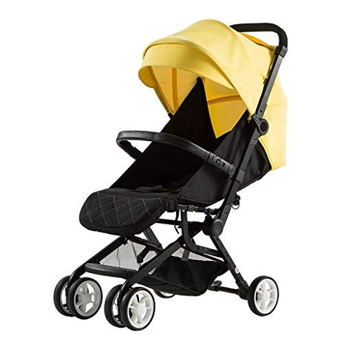 Best Price Yyqt Baby Stroller, Baby Stroller Baby Folding Ultra Light Can Sit Reclining Small Umbrel...