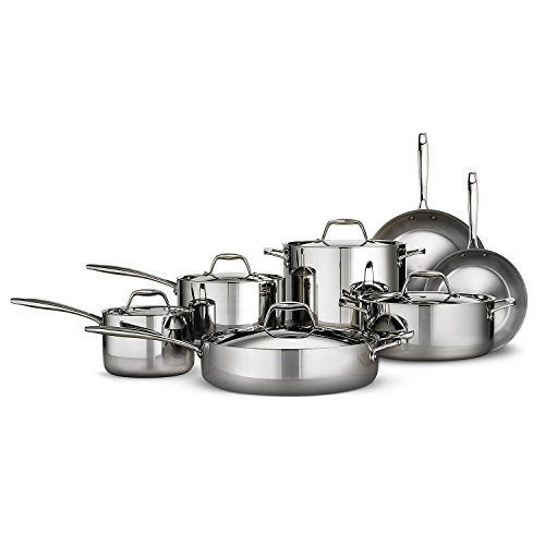 Tramontina Tri-ply Clad Stainless Steel Cookware...