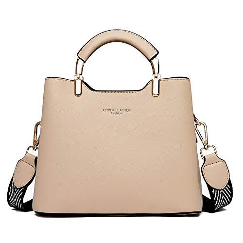 CMZ Rucksäcke Damenhandtaschen lässig Damen mittleren Alters breite Schultergurte Messenger große Taschen Schulter Beuteltasche