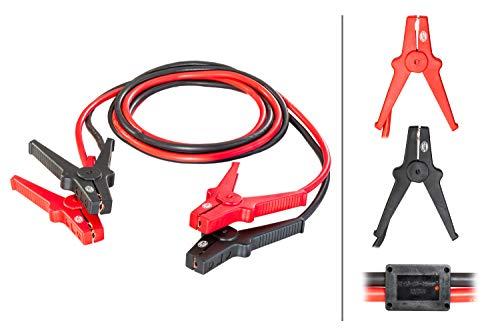 Hella 8KS 236 689-001 Starthilfekabel, 12V/24V, 3,5 Meter, Überspannungsschutz, inkl. Aufbewahrungstasche