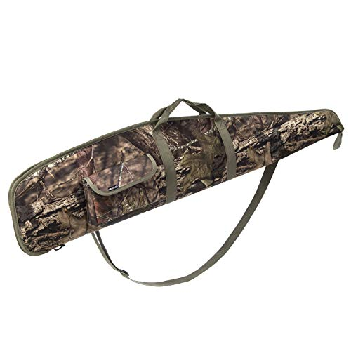 AUMTISC 44 Inch Rifle Case with Adjustable Shoulder Shotgun Case for Scoped Rifles (Camouflage, 44)