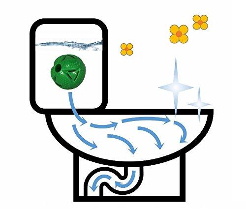 1 x Balle Anti-calcaire pour WC/Boule Anticalcaire pour WC
