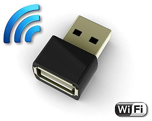 AirDrive Forensic Keylogger Pro - USB Hardware Keylogger mit WiFi, 16MB Flash, Email und Live-Datenübertragung