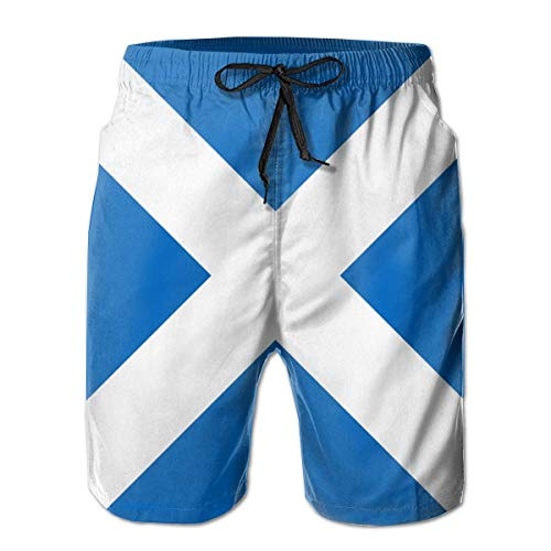 WMDJEG Space Mens Summer Beachwear Sports Running Swim Board Shorts Mesh Lining