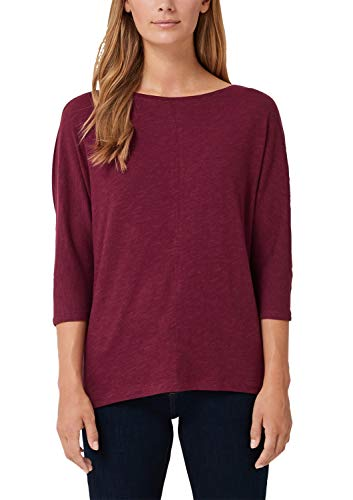 s.Oliver Damen 04.899.39.5351 T-Shirt, Rot (Bordeaux 4906), 46