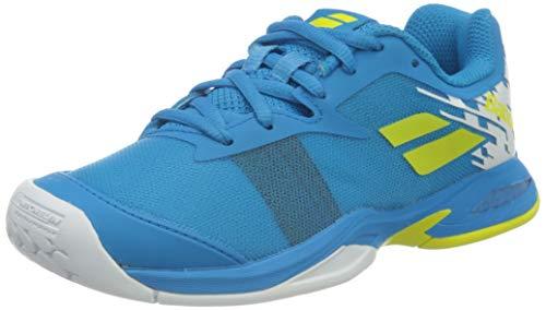 BABOLAT Jet All Court Junior, Zapatillas de Tenis, Malibu Blue, 35.5 EU
