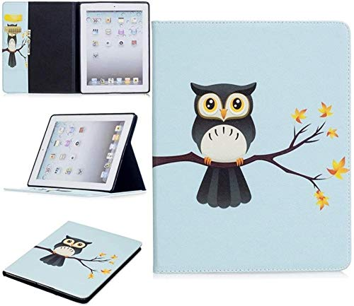 XXY Tablet Cases for IPad 2nd/3rd/4th Generation, Cute Panda Owl Butterfly Flower Design Tablet Stand Card Slot Case Compatible with IPad 2nd/3rd/4th Generation (Color : 4)