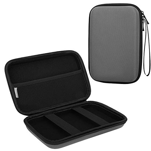 MoKo 7-Inch GPS Carrying Case, Portable Hard Shell Protective Pouch Storage Bag for Car GPS Navigator Garmin/Tomtom/Magellan with 7