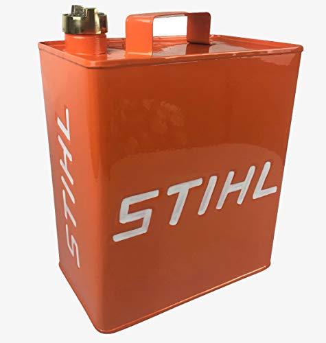 MandyTools Stihl Orange Vintage Decorative Petrol Fuel Jerry Can