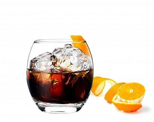 Sables & Reflets 6 Verres à Whisky/Cognac/Rhum/Apéritif / 300ml