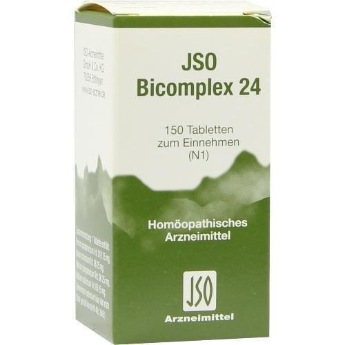 JSO BICOMPLEX HEILM NR 24 150St Tabletten PZN:545053