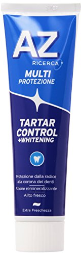 Az Ricerca - Dentifricio Tartar Control + Whitening, Multiprotezione -75+25Ml