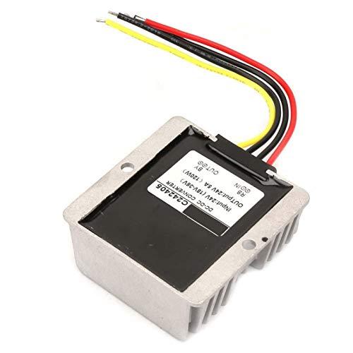 Regulador de voltaje de durabilidad Calidad Premium Boost/Buck Regulador de voltaje Auto Step Up/Down Converter para equipos eléctricos industriales/vehículos (5A)