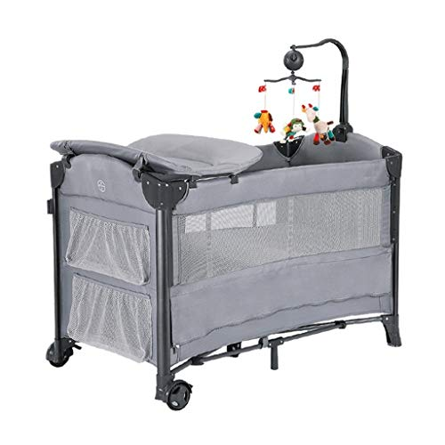 Why Choose RRH-Cribs Multifunctional Crib Travel Cots Bag Bassinet Portable Folding Height Adjustabl...