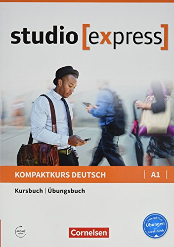 Studio [express] A1 Libro de curso & ejercicios: Kurs- und Ubungsbuch A1