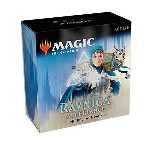 Magic The Gathering: Ravnica Allegiance Prerelease Pack Azorius (Pre-Pelease Promo + 6 Boosters + d20 Spindown Counter) Kit