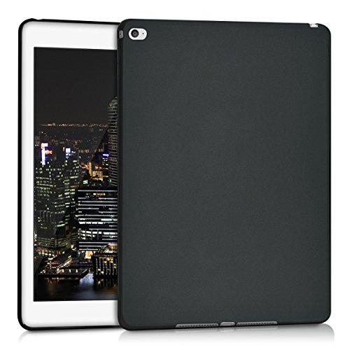 kwmobile Schutzhülle kompatibel mit Apple iPad Air 2 - Hülle Silikon - Tablet Cover Hülle Schwarz matt