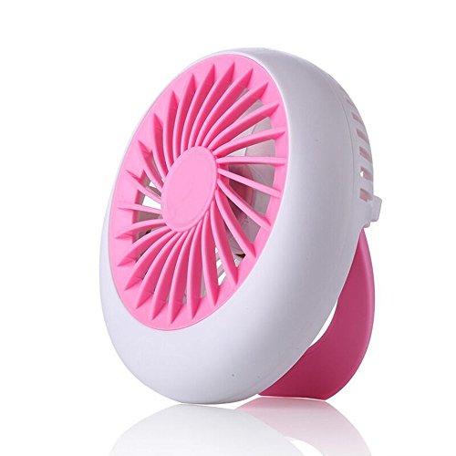 Xunyou Mini ventilador USB, portátil, recargable, para escritorio, portátil, oficina, al aire libre, viajes, hogar