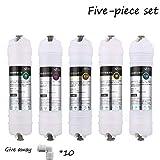 Accessoires de Purificateur d'eau de Filtre À Charbon Actif de 10 Pouces, Membrane en Cinq Pièces, Filtre en Coton PP