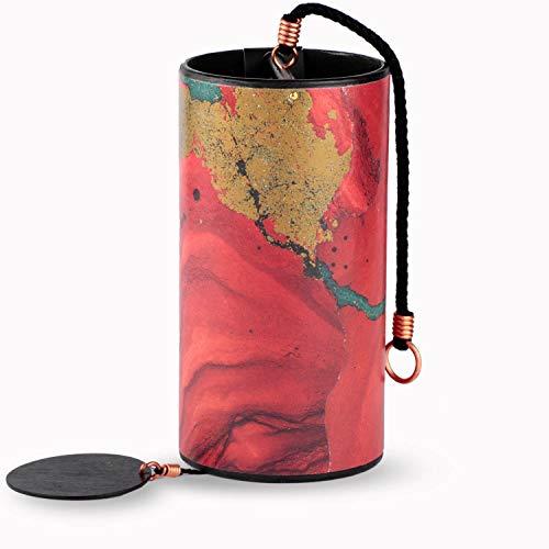 ZAPHIR Klangspiel (Shanti) Klangmelodie SUNRAY (Sommer) - Farbe rot