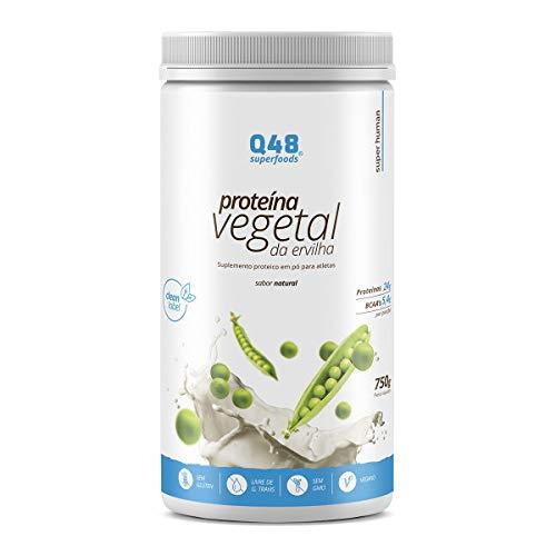 Proteína Vegetal Da Ervilha Q48 Superfoods Natural 750G Q48 Superfoods