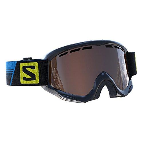 Salomon Juke skibril, voor kinderen (6-12 jaar), geschikt voor brildragers, airflow-systeem