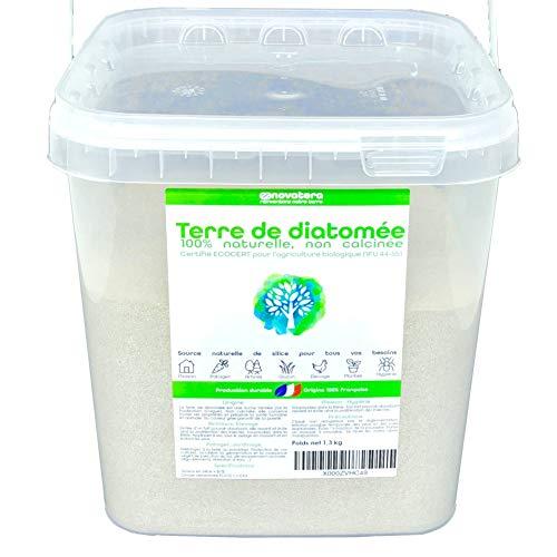 NOVATERA Terre de Diatomée 100% Naturelle - 1,3 kg -...