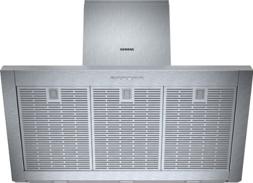 Siemens LC97KA532 iQ300 Wandhaube / 90 cm / Wahlweise Abluft- oder Umluftbetrieb / Metall-Fettfilter, spülmaschinengeeignet / edelstahl