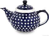 Bunzlauer Keramik Teekanne 1.25L Ø24.4 cm, H=15.3 cm, Dekor 42