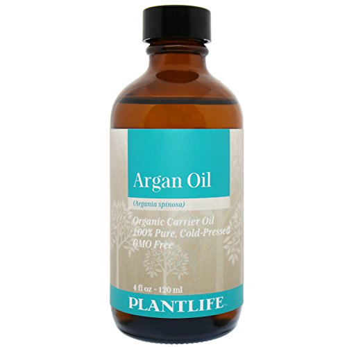 Organic Argan Oil For Hair, Face & Skin - BEST 100% Pure & Certified Organic Cold Pressed Moroccan Argan Oil - For Acne, Nails, Dry Scalp, Split Ends, Stretch Marks, Body & More - 4OZ