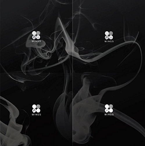 BTS - WINGS (Vol.2) [W ver.] CD with Official Folded Poster & Extra Gift Photocard