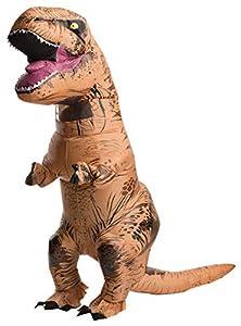 Rubie\'s Adult The Original Inflatable Dinosaur Costume, T-Rex, Standard